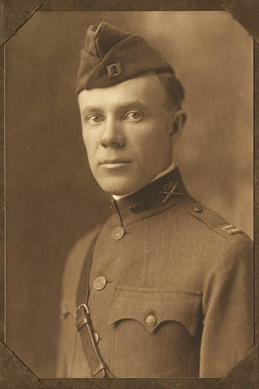 Formal portrait of K. P. Williams in uniform